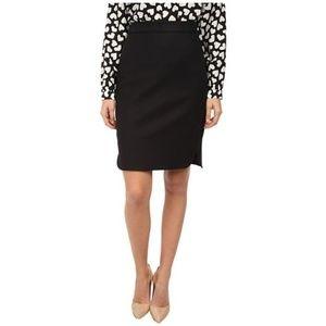 Kate Spade Cotton Twill Pencil Skirt 10